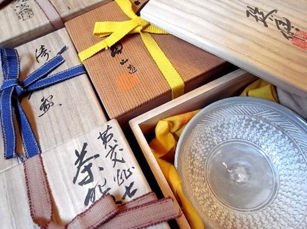茶道具の買取の注意点